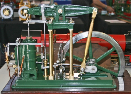 Small scale model of a Beam Engine