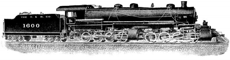 By comparison, this shows how Mallett fitted two engines under a very long boiler
