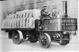 An early Sentinel Steam Lorry