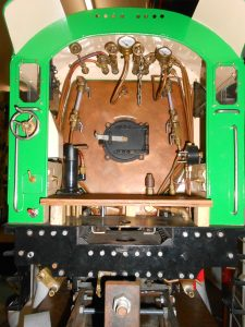 The operating part of a C36 in 5 inch gauge